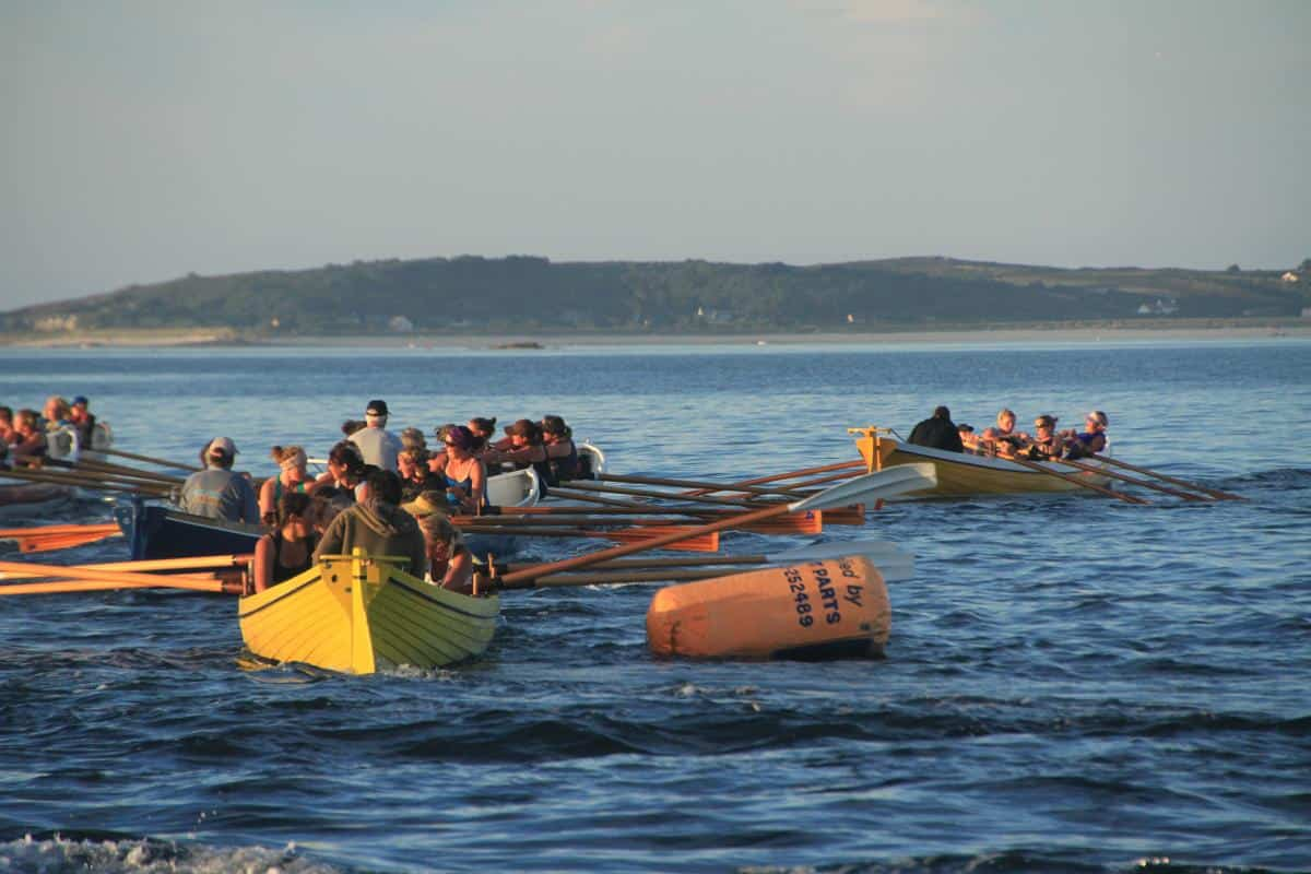 gig racing twice a week on the Scillies