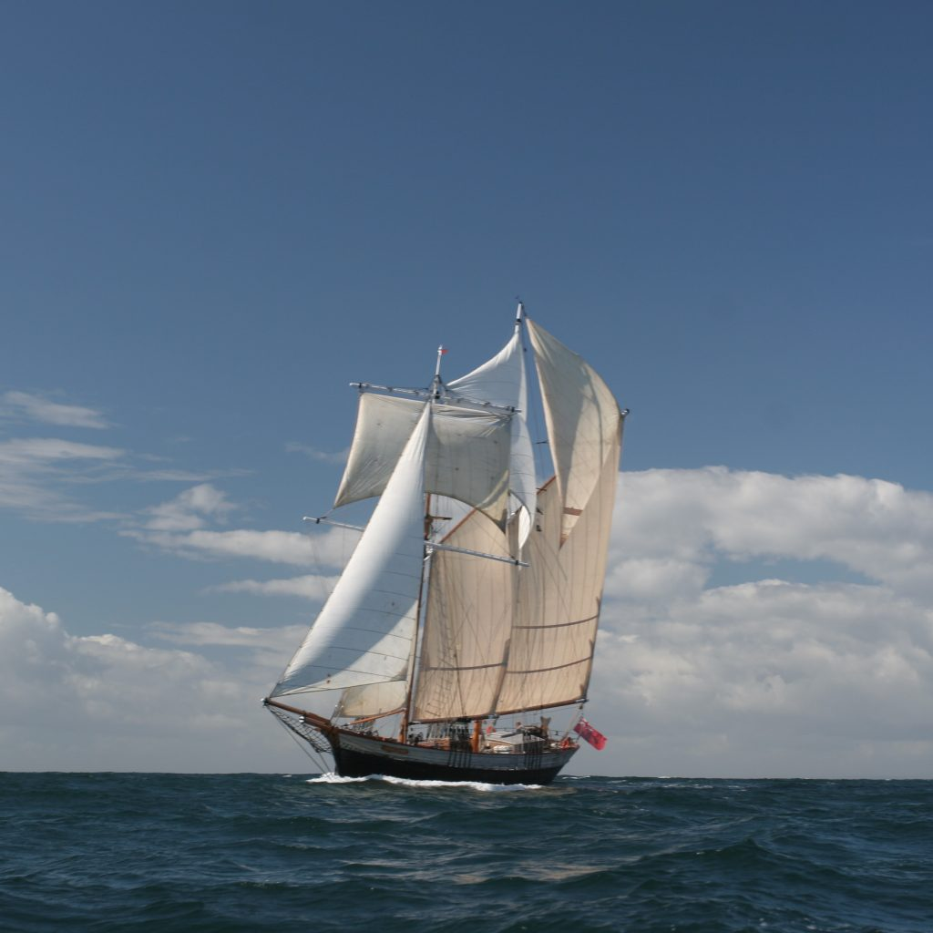 short sailing breaks on johanna Lucretia with Classic Sailing