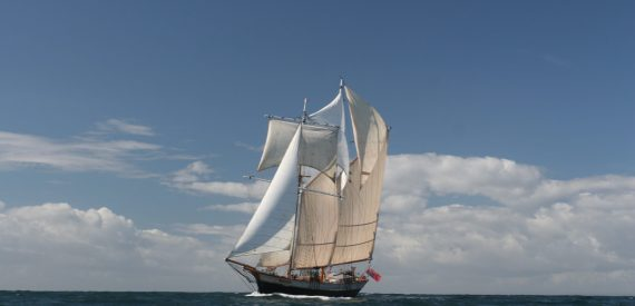Sailing on Johanna Lucretia to the Isles of Scilly with Classic Sailing
