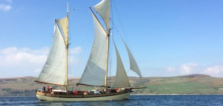 Sailing on Maybe with Classic Sailing to the Isles of Scilly
