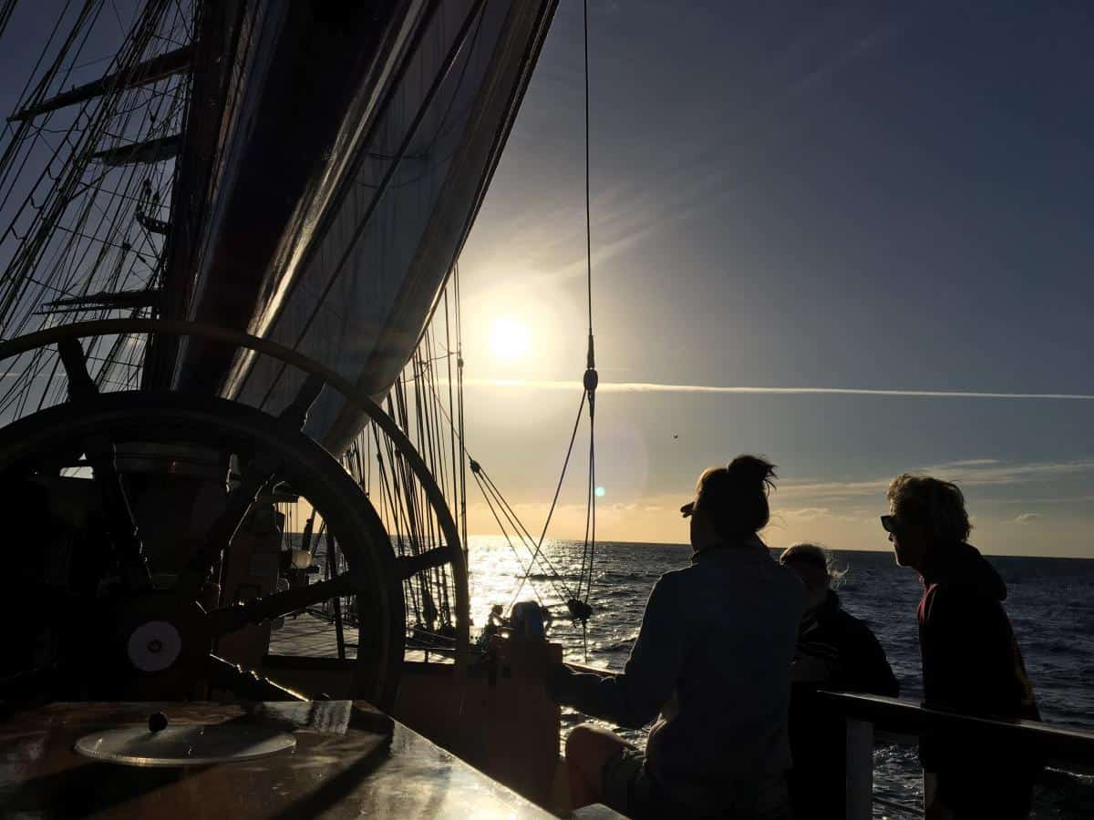 be crew onboard a tall ship in june 2019