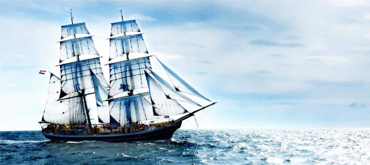 Explore the brittany coast onboard Morgenster in June 2019