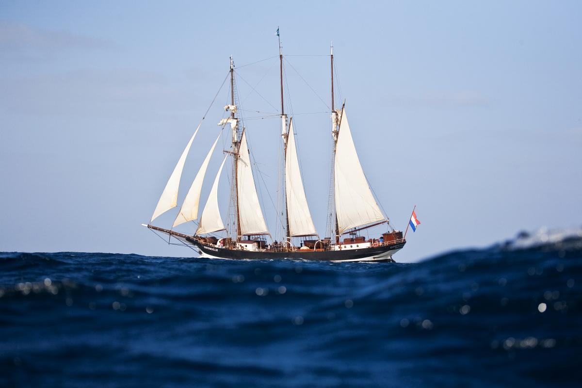 """""""Oosterschelde under sail"""""""