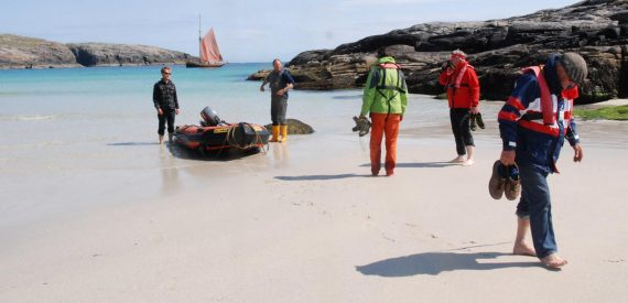 stunning sandy beaches in outer hebrides