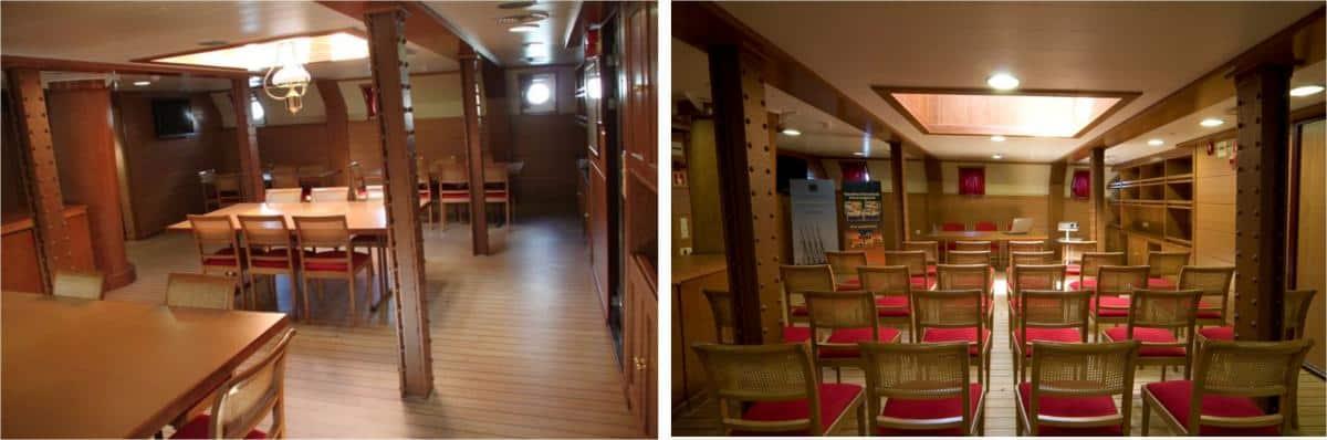 Santa Maria Manuela - multi purpose communal space on deck 1