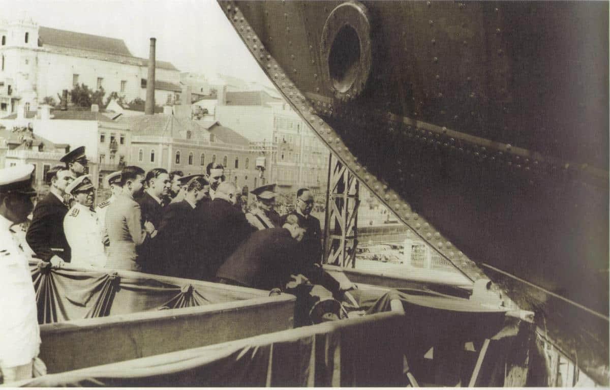Launch day in Lisbon - Santa Maria Manuela