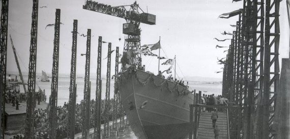 launch day Santa Maria manuela 1937