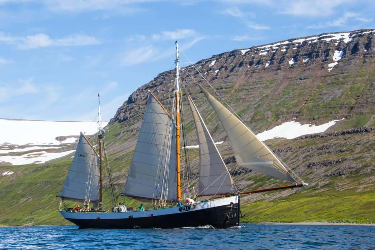 Fjord sailing - Iceland style