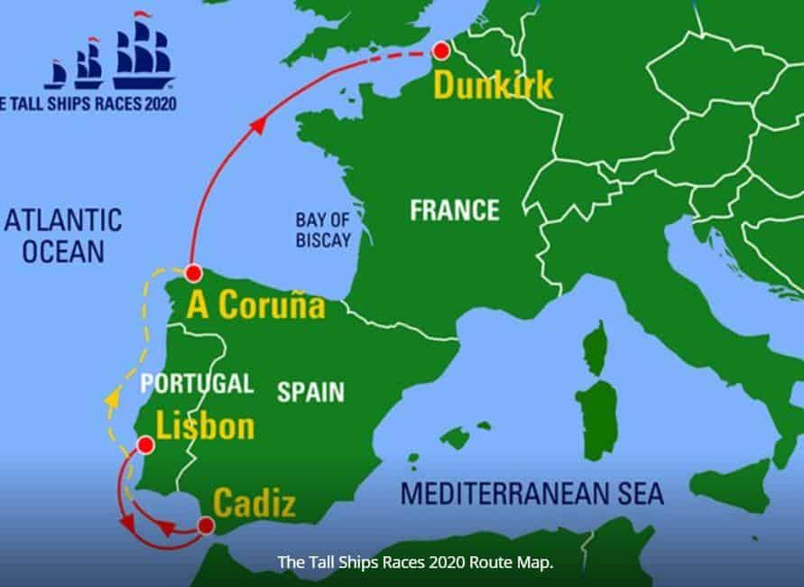 Tall Ships Race 2020 is Organised by Sail Training International