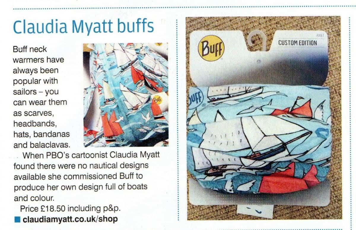 Buy a Claudia Myatt Buff from her website shop