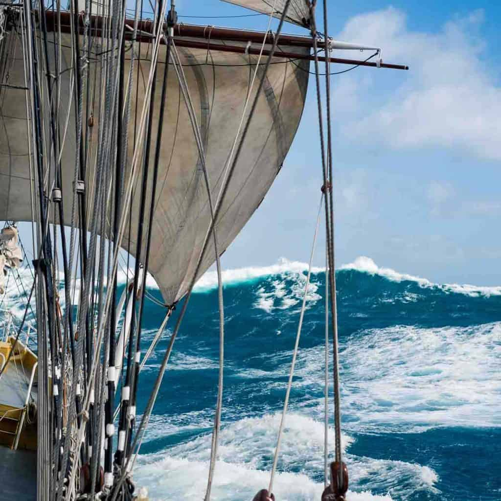 Morgenster in the Atlantic by Richard Sibley