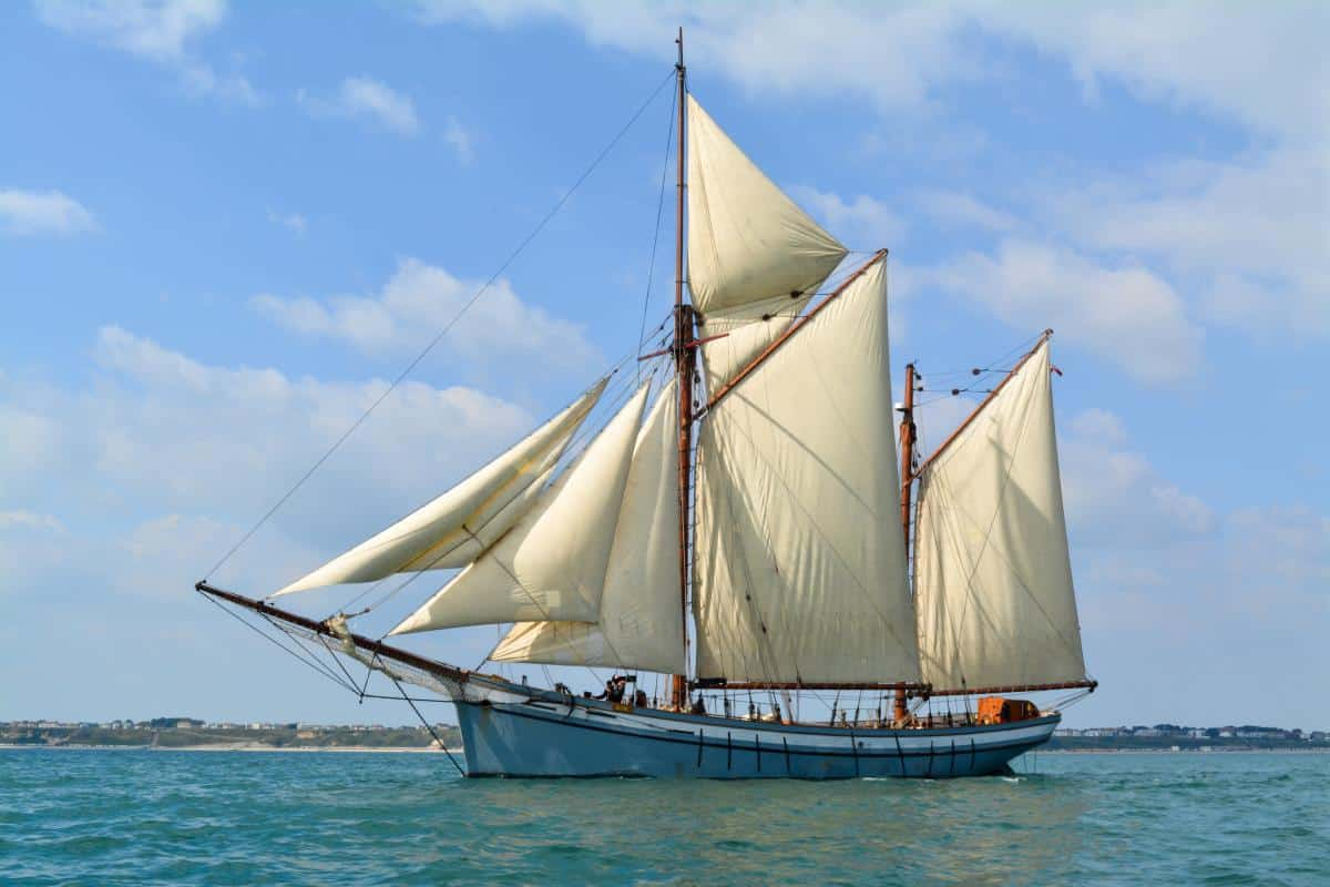 Irene of Bridgewater under full sail