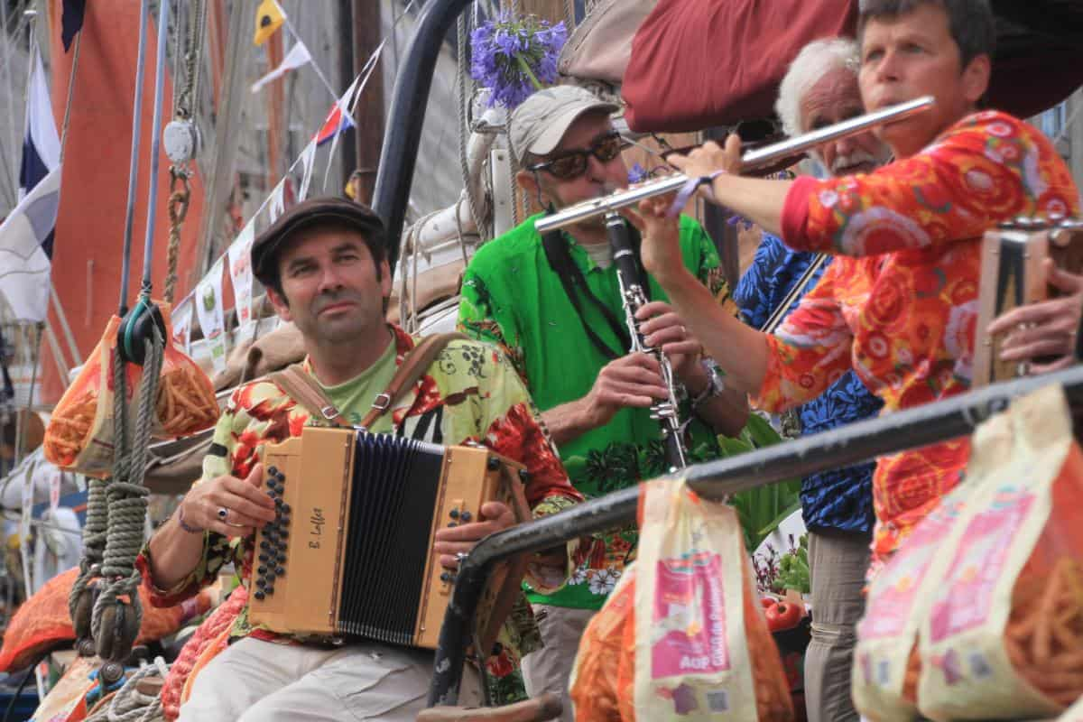 Breton shanty groups come to Falmouth regularly