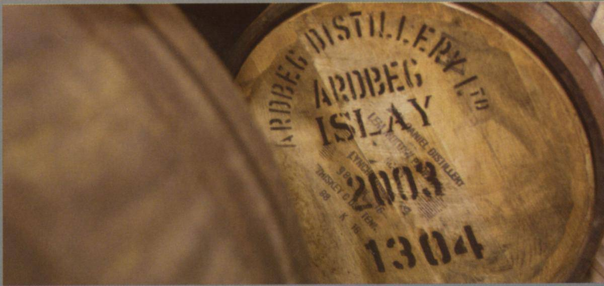 Peaty whisky is distilled on islay and jura