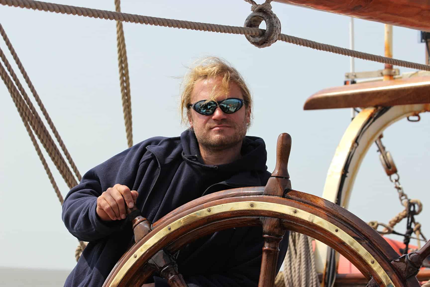 Captain Fabian on Eye of the Wind