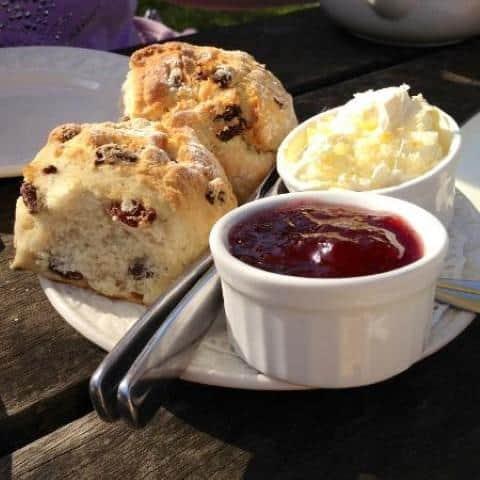 Pilgrim's cream tea or you may get cake!