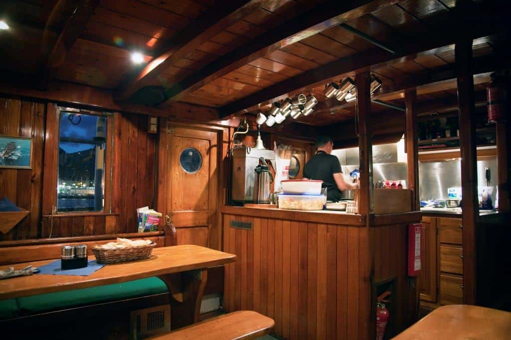Ship interior on Eye of the Wind