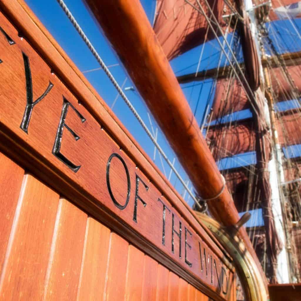 eye of the wind is a well known tall ship