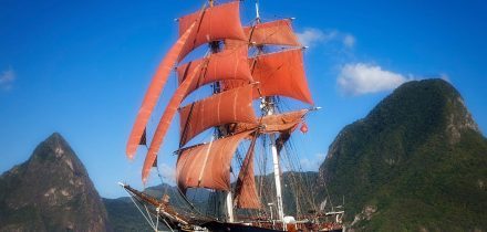 Eye of the Wind. Photo by JP Bleck - St Lucia