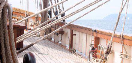 Pilgrim's decks and high gunnels ideal for beginners