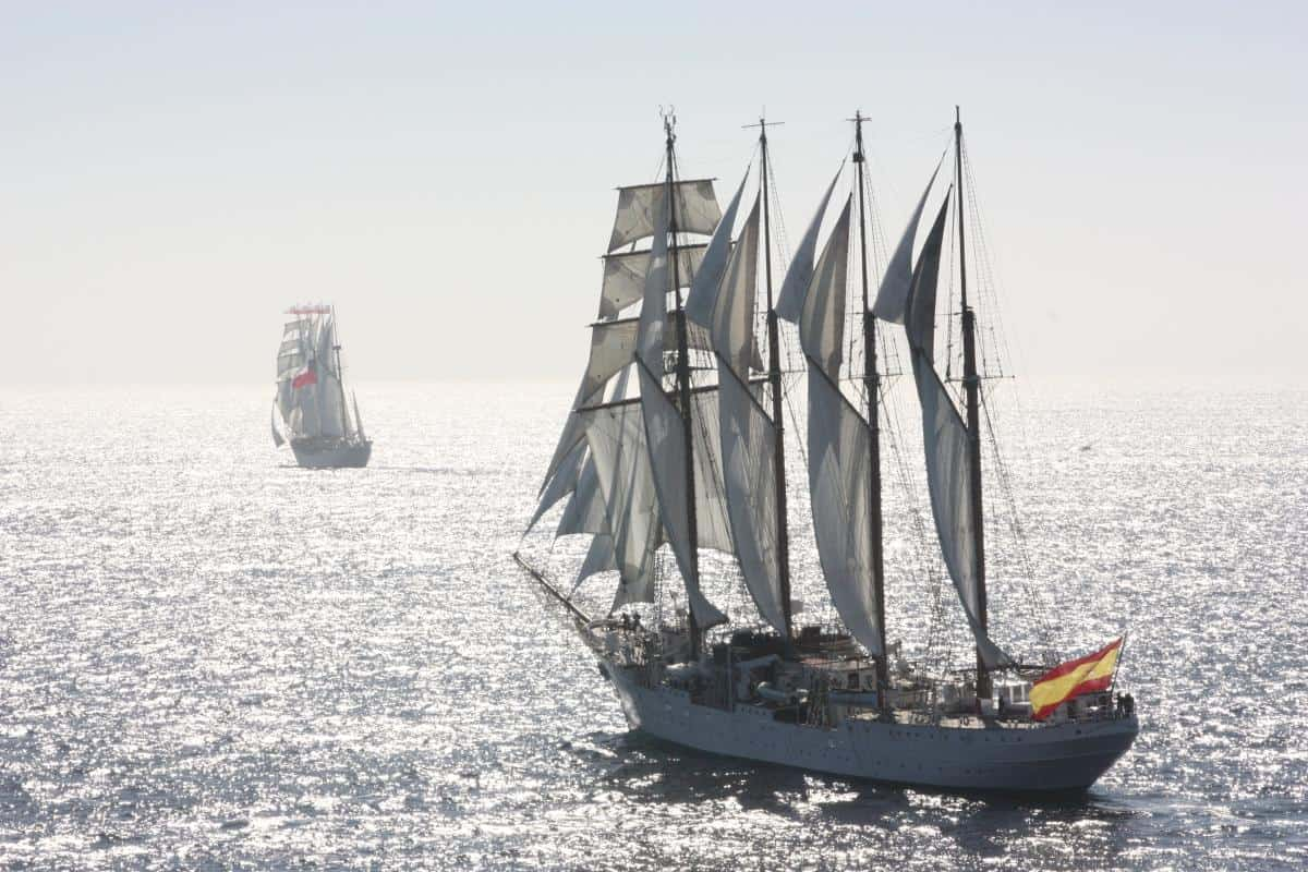 Tall Ships Race 2020 - imagine being aloft with this view by Adam Purser