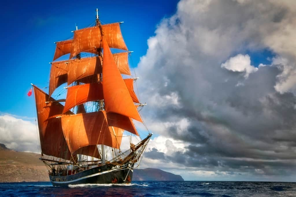 Eye of the wind - tall ship holidays in the Baltic in 2020
