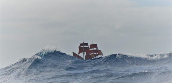 Eye of the wind with Classic Sailing