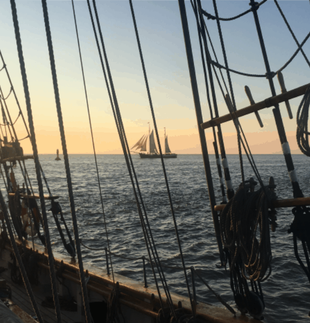 sail to falmouth classics on Anny