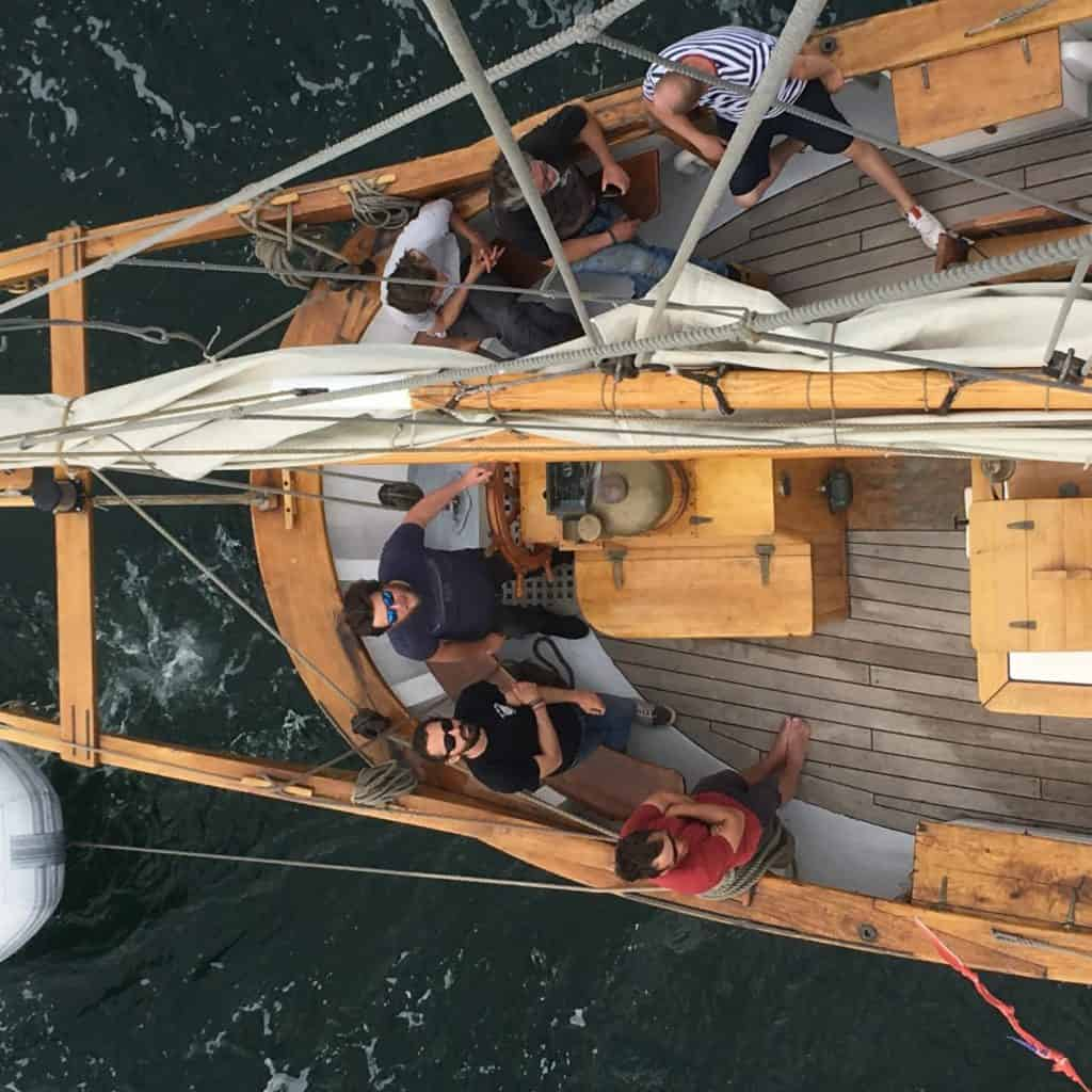 A new tall ship to be based in Cornwall - Anny of Charlestown offers short breaks and can be booked through Classic Sailing