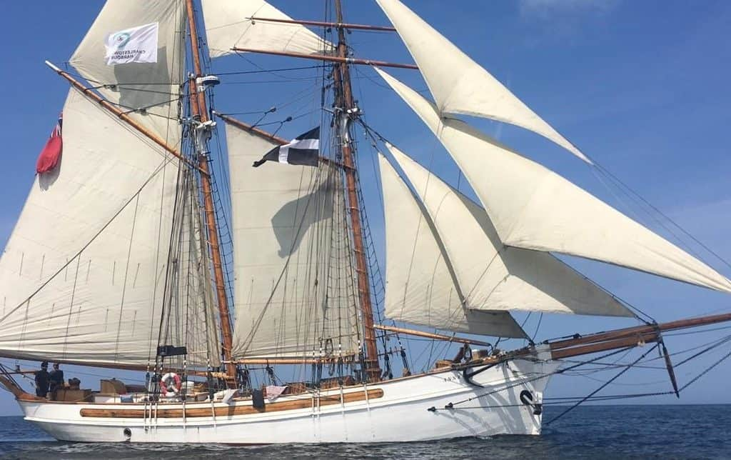 Anny of Charlestown offers tall ship sailing in Cornwall and lots of short breaks to learn the ropes