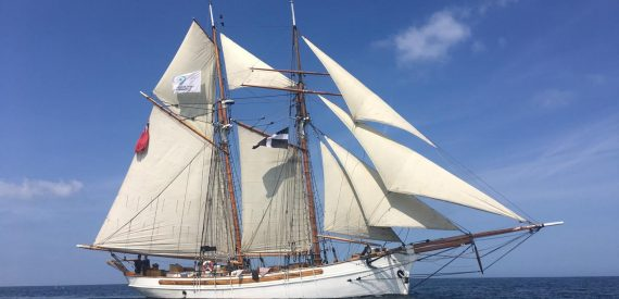 Introducing a new tall ship for cornwall