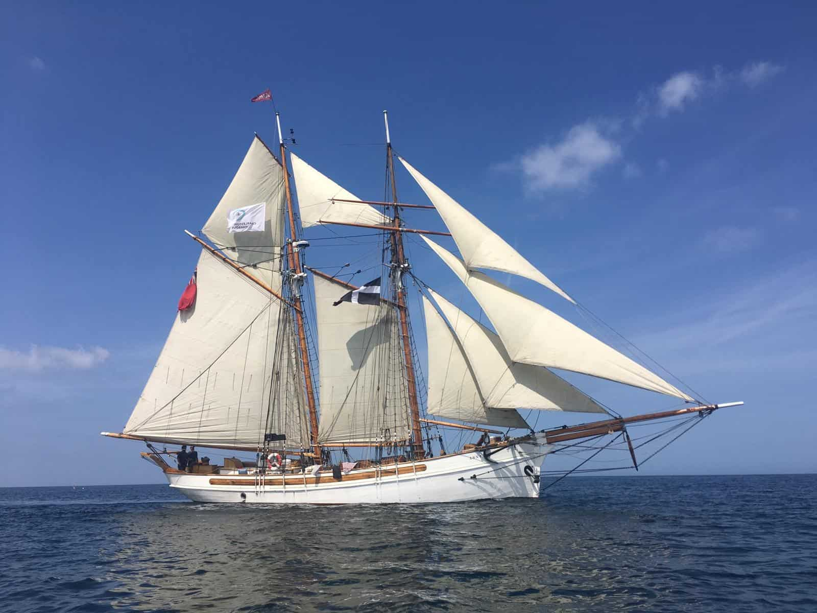 Anny of Charlestown - come sail her in Cornwall or Devon - short breaks