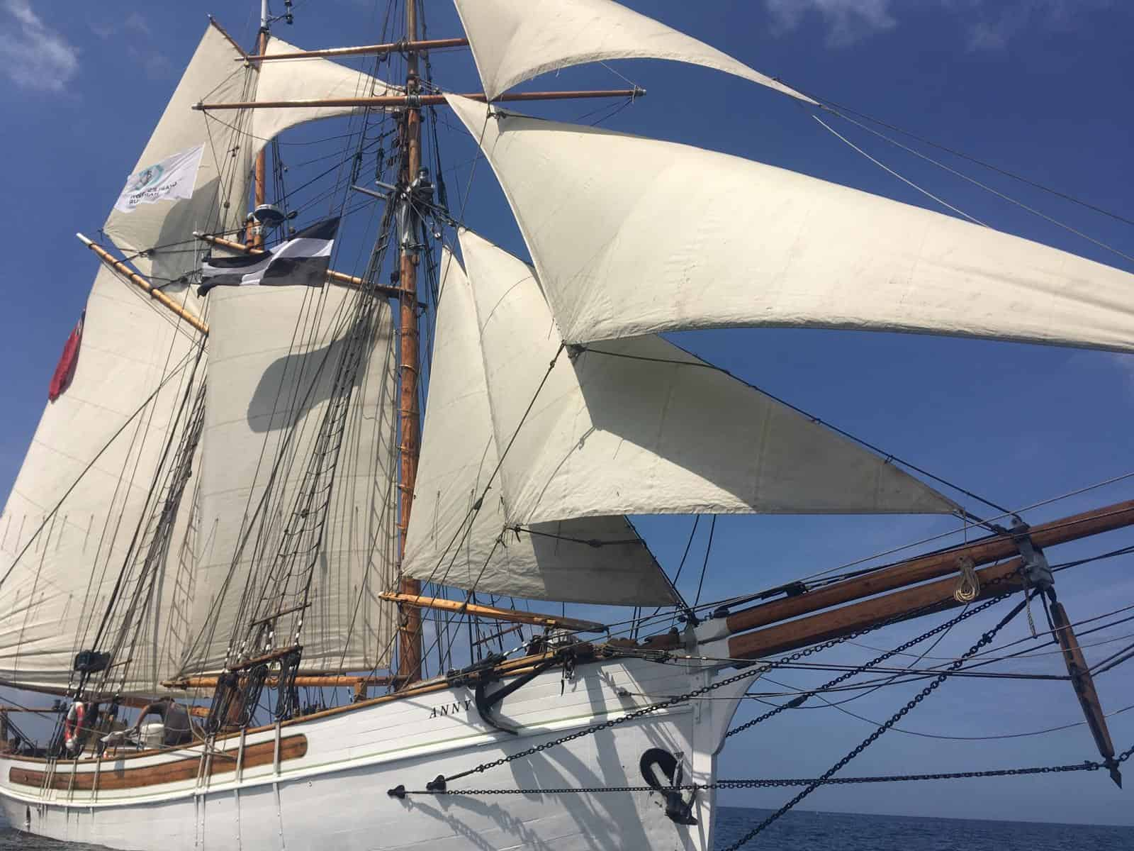 Anny of Charlestown joins the classic Sailing  fleet in 2020