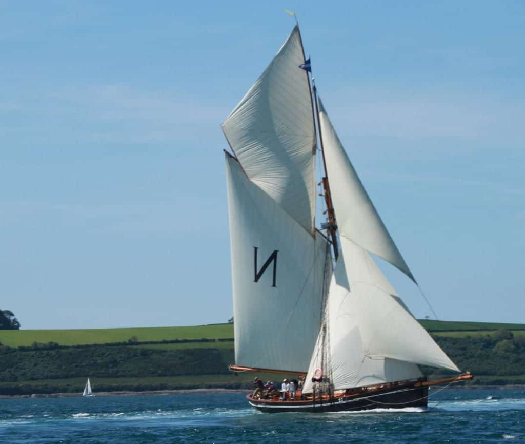 Sail on Mascotte an origanal Bristol Channel Pilot Cutter