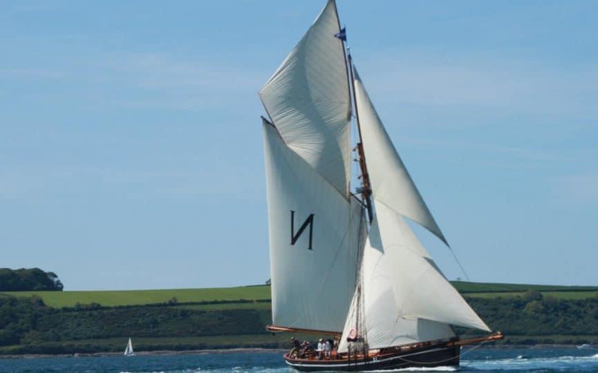 Sail on Mascotte an origanal Bristol Channel Pilot Cutter