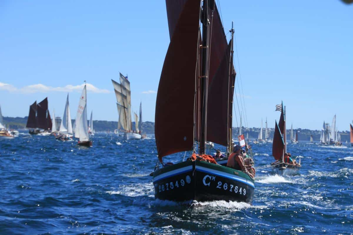 brave small boats at Brest Festival