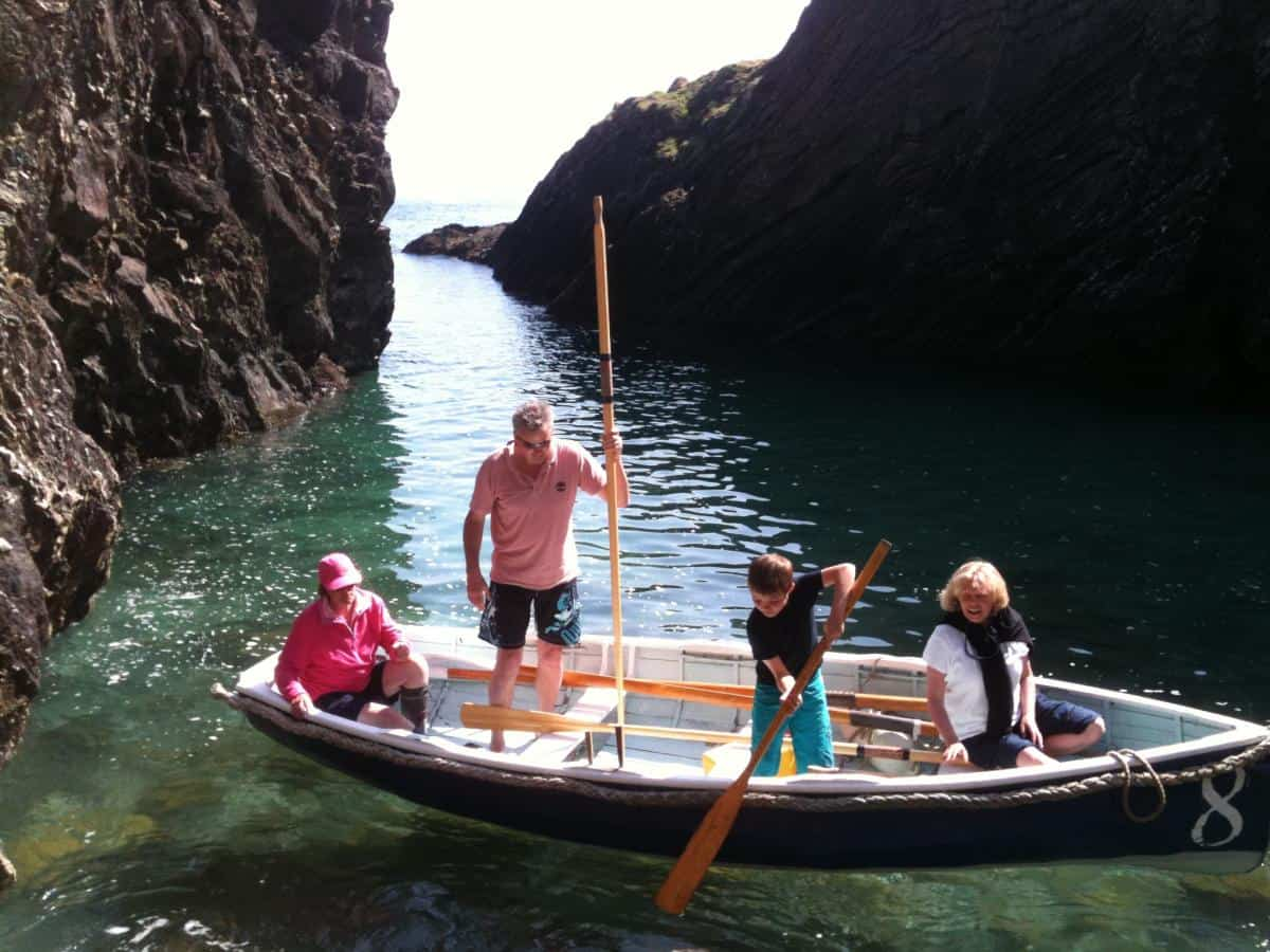 Smugglers hiding spots in south Cornwall