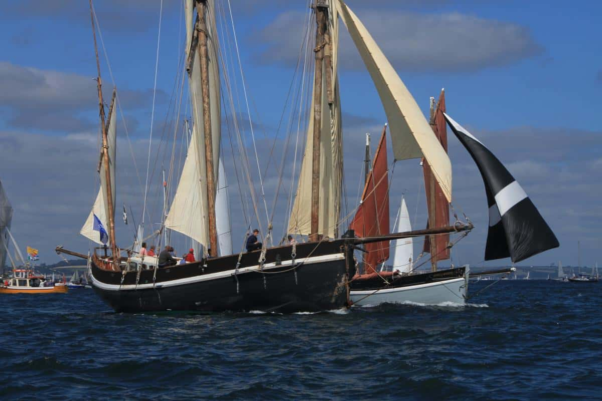 local luggers grayhound and mystery at falmouth event