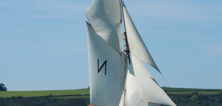 mascotte - original bristol channel pilot cutter with classic sailing