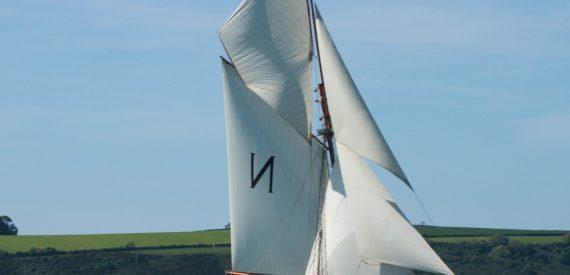 mascotte - original bristol channel pilot cutter with classic sailing