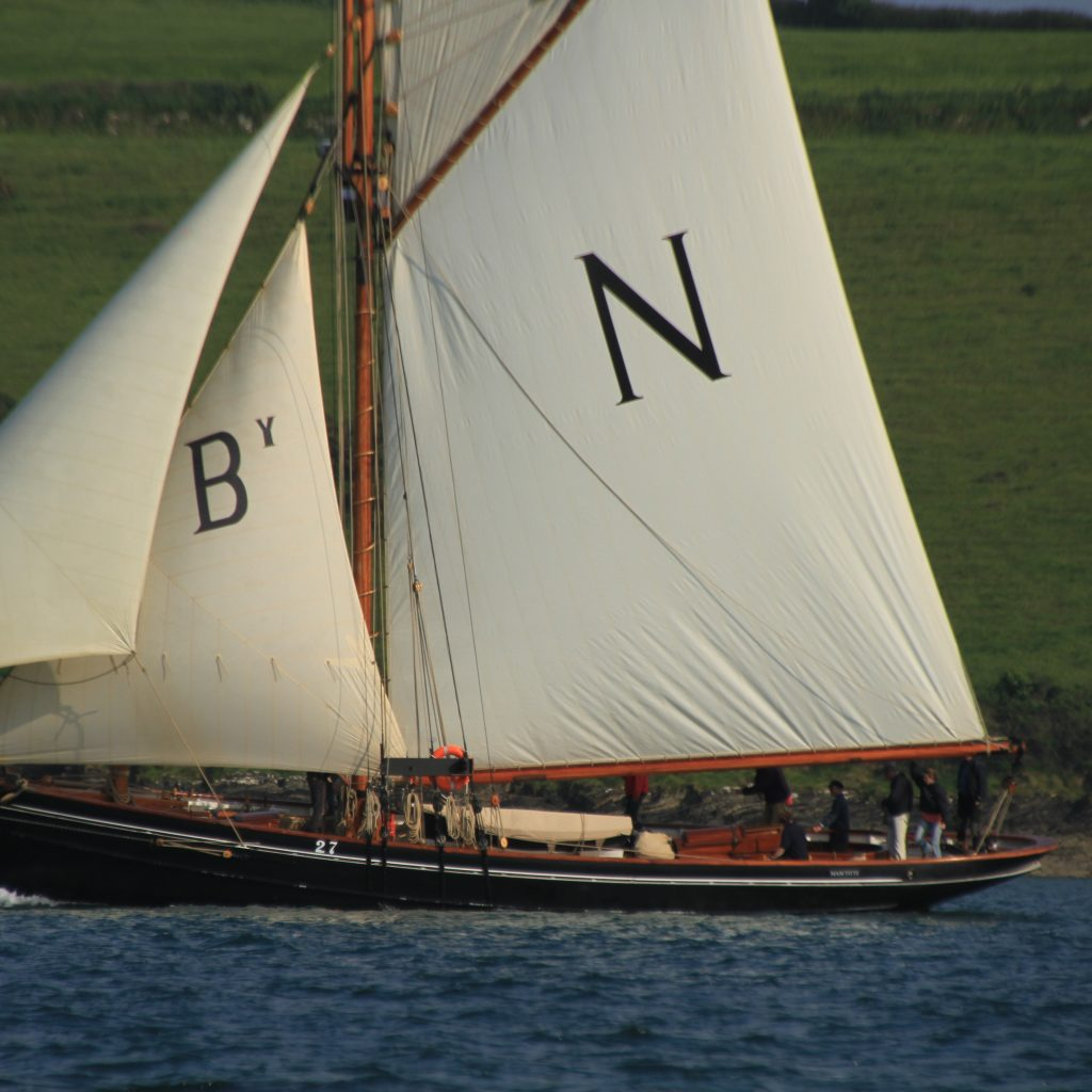 You can now sail on Pilot Cutter Mascotte with Classic Sailing. Photo Debbie Purser