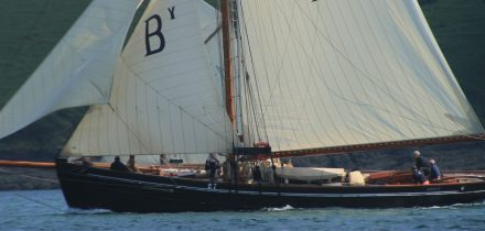 Sail Bristol Channel Pilot Cutter Mascotte with Classic Sailing