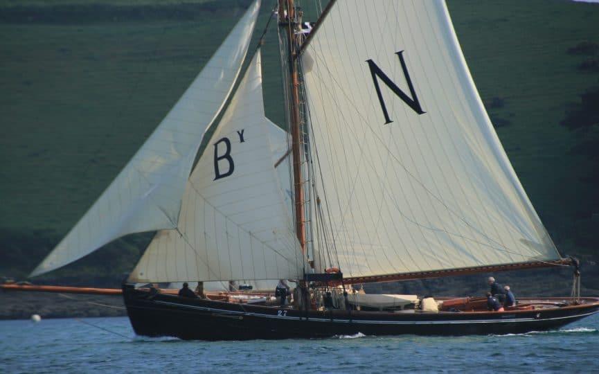 Mascotte - come an sail an original 1904 pilot cutter