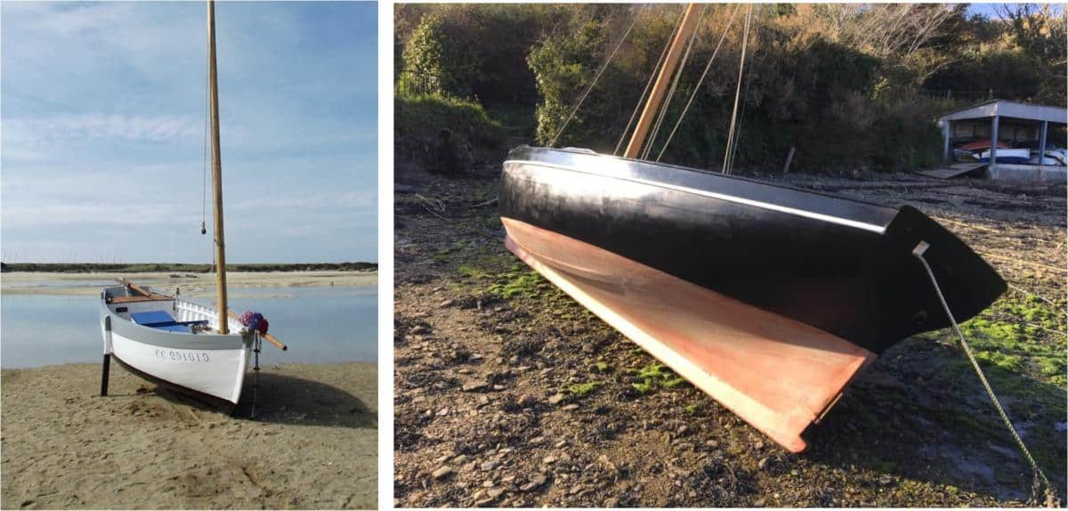 With or without legs, you can beach these boats