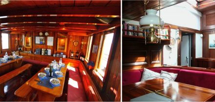 below decks on eye of the wind