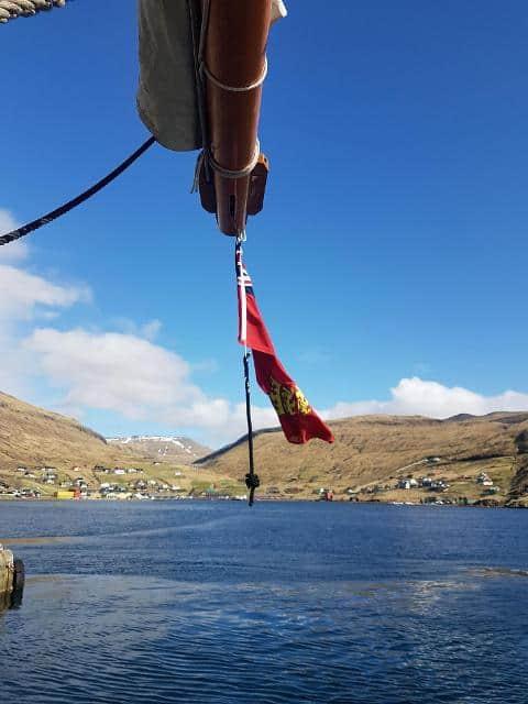 Blue Clipper in the Faroes