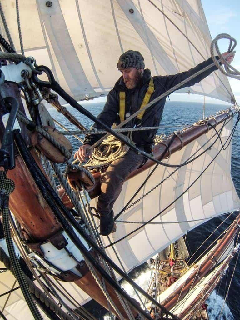 Coiling Ropes aloft