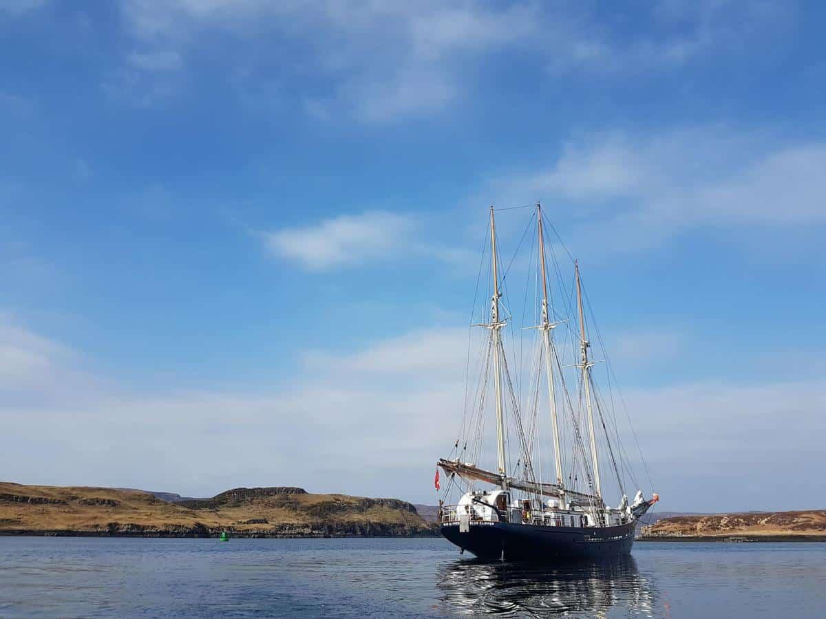 Blue Clipper in Ullapool