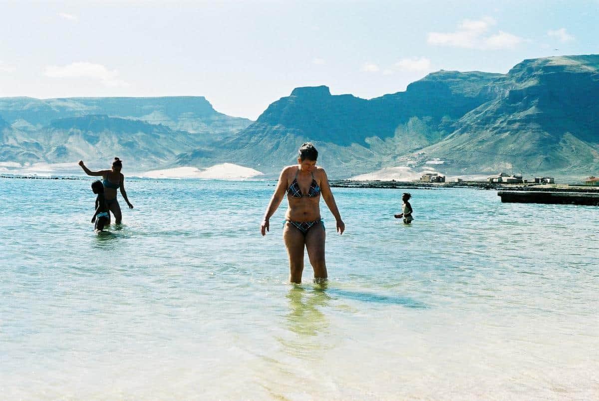 Cape Verde - lagoon on Sao Vincente