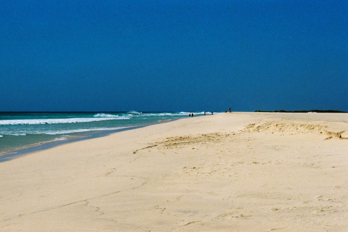 12 mile beach on Boa Vista